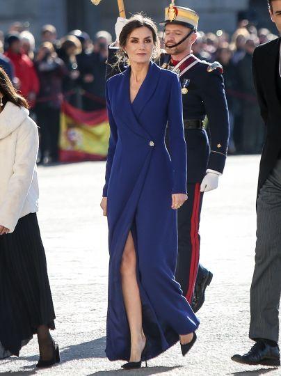 Королева Летиция и король Филипп VI / © Getty Images
