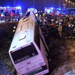 Смертельна ДТП автобуса з українцями в Польщі: водій автобуса провини не визнає та має свою версію подій