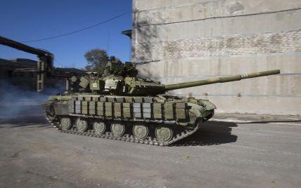 Бойовики зменшили кількість обстрілів та стягують бронетехніку під Докучаєвськ. Мапа АТО