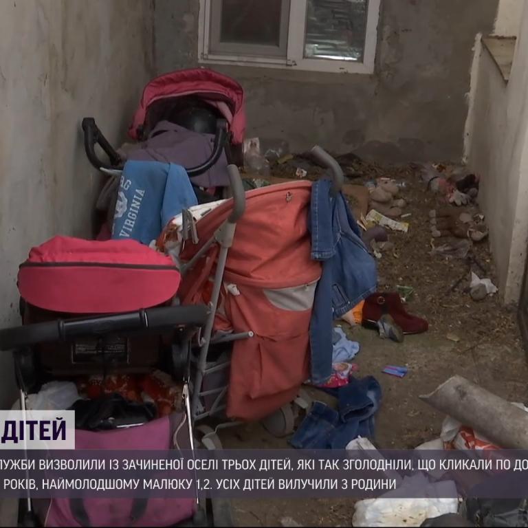 С гематомами и следами ожогов: состояние спасенных от голода одесских детей вызывает беспокойство у специалистов
