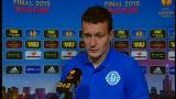 Федецкий прокомментировал травму Матеуса на последних минутах матча Днепр-Севилья