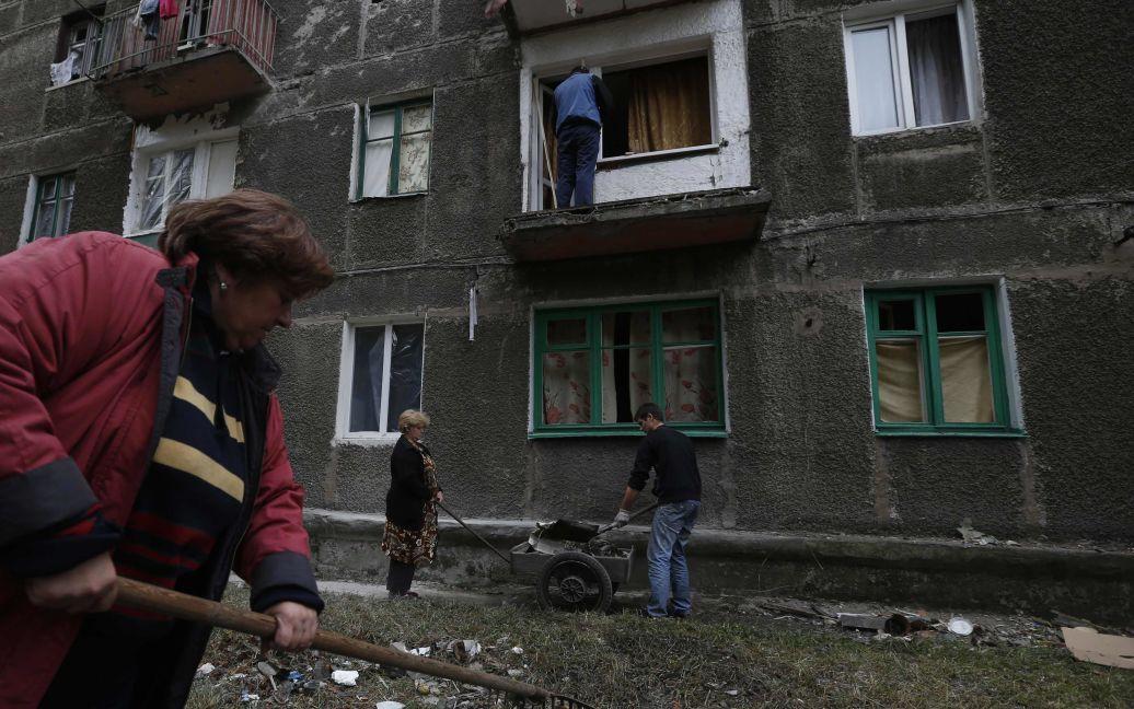 Боевики продолжают обстреливать Дебальцево / © Reuters