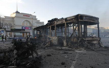 В Донецке от артобстрела серьезно пострадали вокзал и газопровод