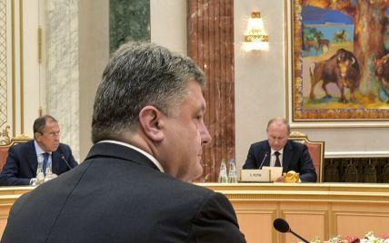 Після свят Порошенко поговорить із Путіним про Донбас в Астані