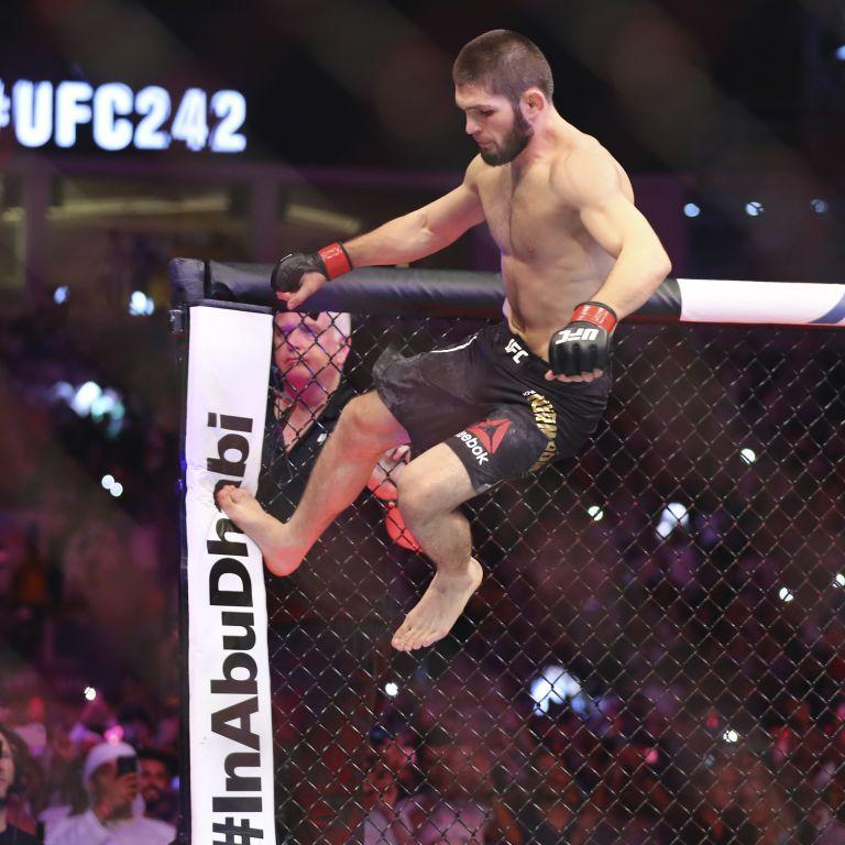 Хабиб победил Гетжи и защитил титул чемпиона UFC