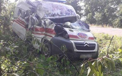 В Винницкой области медики скорой попали в ДТП: есть пострадавшие