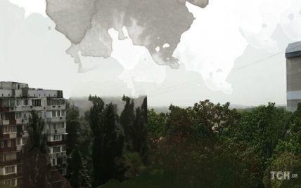 """""""Надуло з Росії"""": в Укргідрометцентрі пояснили причини погіршення видимості у Києві"""
