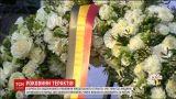 В Брюсселе почтили память погибших год назад во время теракта