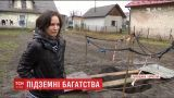 """На месте старой копальни нефти в Бориславе образовалась яма с """"черным золотом"""""""
