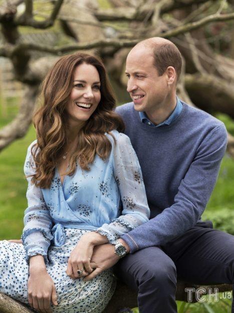 Кейт и Уильям на новом портретном снимке в честь10-й годовщины свадьбы / © Getty Images