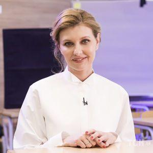Пирог и два салата: Елена Зеленская и Евгений Клопотенко приготовили блюда из нового школьного меню