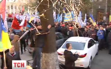 """Більшість шахтарів у Києві мітингують """"за компанію"""" і для """"профілактики"""""""