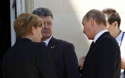 Порошенко пообщается с Путиным о прекращении вооруженных противостояний на Востоке - Bloomberg