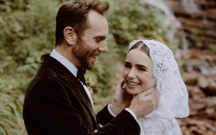 """Звезда """"Эмили в Париже"""" вышла замуж и очаровала свадебными снимками"""