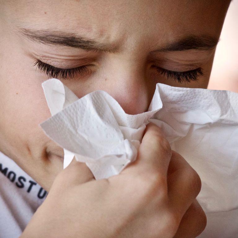 В Киеве заболеваемость гриппом и ОРВИ выросла почти на 50%