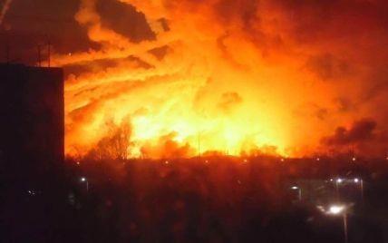 Власти подтвердили информацию о взрывах на складе боеприпасов на Харьковщине