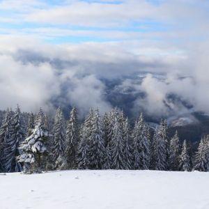 У Карпатах випав майже метр снігу
