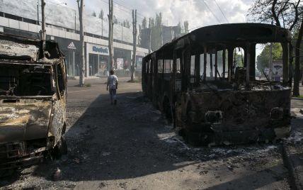 В Краматорске террористы загружают в канализационные люки ящики вероятно со взрывчаткой