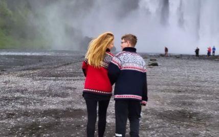 Тіна Кароль приголомшила ефектними відео з відпустки в Ісландії з сином