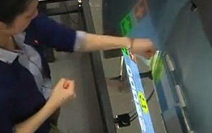 Японцы создали первый в мире экран из воздуха