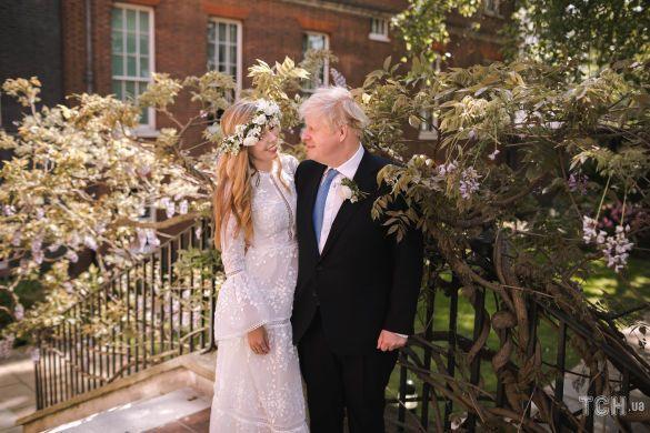Борис Джонсон и его коханана Керри Саймондс / © Getty Images