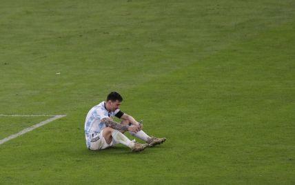 После победы со сборной Месси прямо на поле позвонил жене: видео их эмоционального разговора стало вирусным в Сети