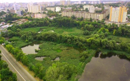 В Киеве общине вернули земельный участок в нижнем каскаде Совских прудов
