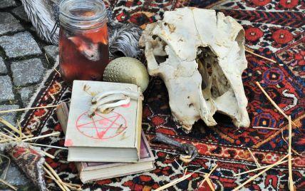 Перевернута пентаграма, свічки та кістки: на Волині запідозрили проведення сатанинського ритуалу