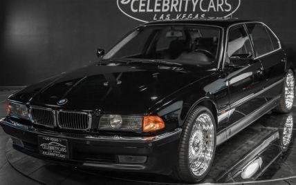 На продажу выставили BMW легендарного Тупака Шакура, в котором он был застрелен