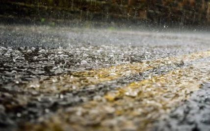 У Моршині злива затопила чотири санаторії