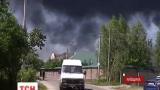 Спасатели сообщили об эвакуации жителей ближайших к пожару поселений