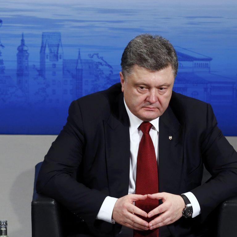 """""""Мы - за мир. Надо дать по зубам - мы дадим по зубам"""" - Порошенко о двух сценариях событий на Донбассе"""