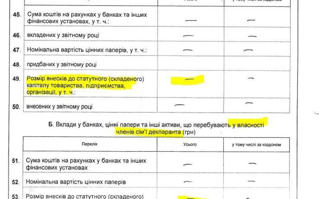 Экс-заместитель Целовальника скрыл бизнес / © Наші гроші
