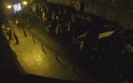 """В Перемышле возле Украинского дома поляки кричали """"Смерть украинцам"""""""
