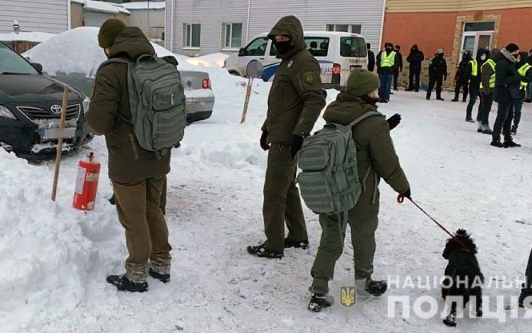 © Національна поліція Києва