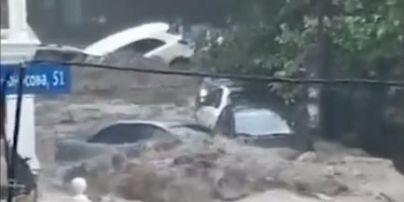 Непогода топит Украины: в Сети показывают последствия подтоплений и стремительные реки посреди улиц