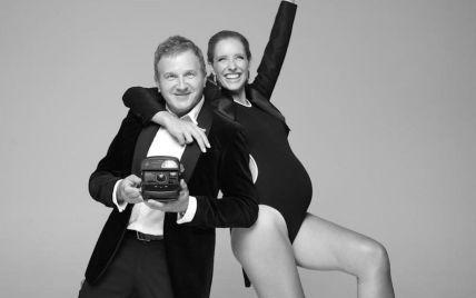 Длинноногая Осадчая в боди и на каблуках восхитила фото с Горбуновым по случаю своего 38-летия