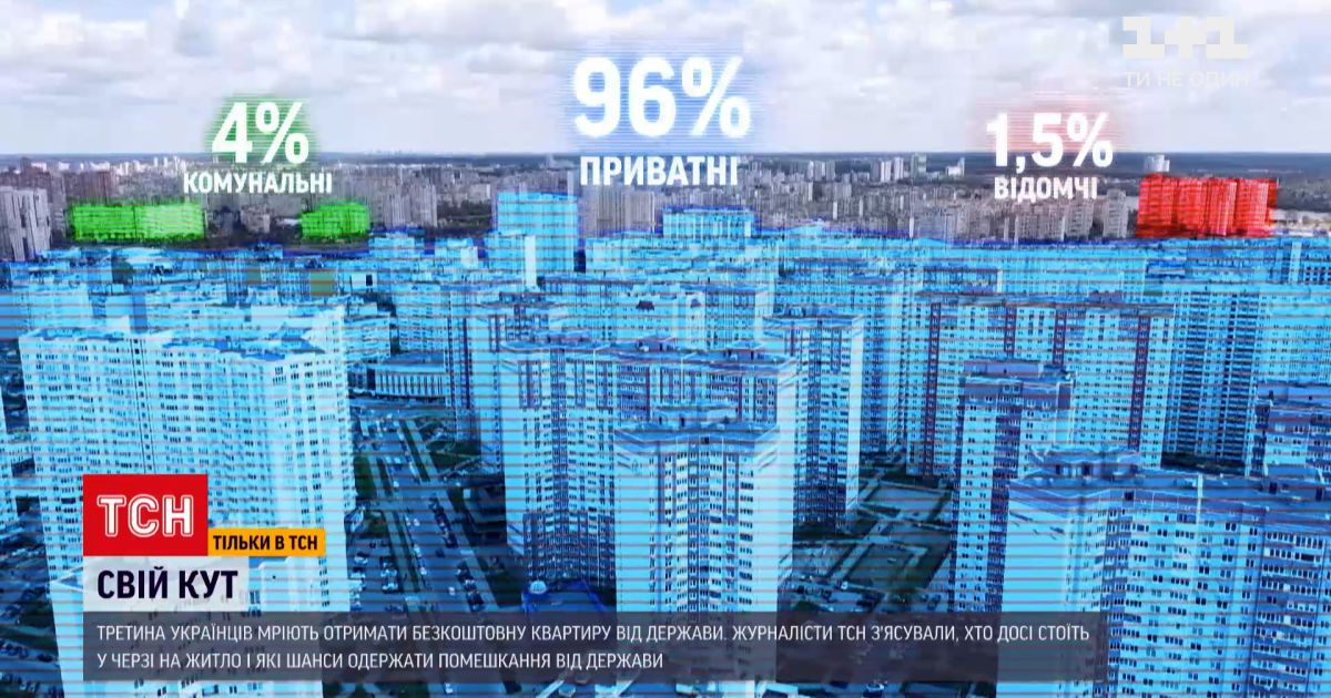 """Спецпроект """"Свій кут"""": существуют ли еще очереди за бесплатными квартирами и шансы на их получение"""