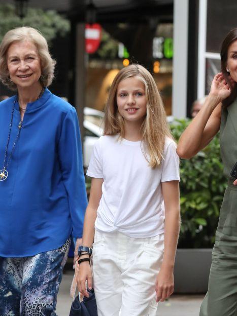 Королева Летиція, королева Софія і інфанти Леонор і Софія / © Getty Images