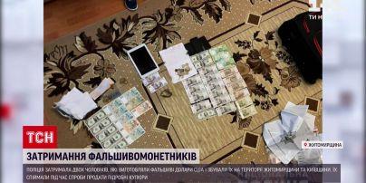 Новини України: в Житомирській області затримали фальшивомонетників