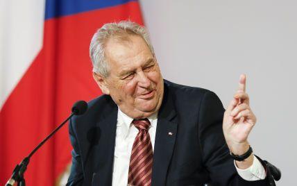 Президента Чехії госпіталізували