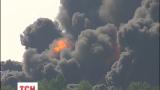 Дымовое облако с нефтебазы пошло в сторону Фастова и Белой Церкви