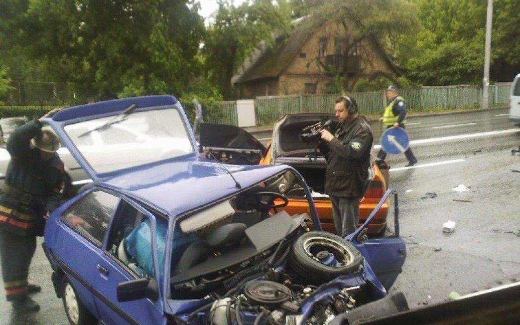 В Киеве утром произошло ужасное ДТП / © facebook/Киевский Авторадиоканал