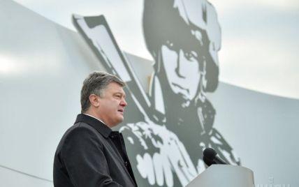 Порошенко рассказал, сколько контрактников появилось в украинской армии