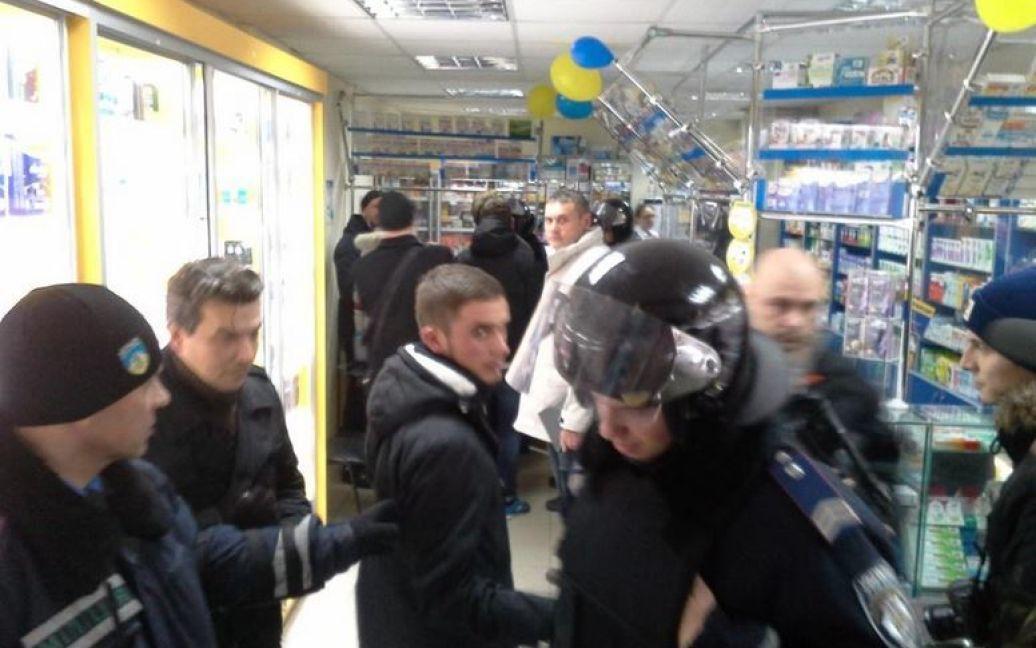 У Харкові сталася бійка між правоохоронцями та активістами / © instagram.com/masha_malinovskaya