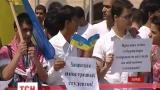 Студенты из Иордании в центре Харькова призвали к борьбе с расизмом
