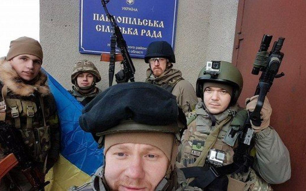 """""""Азов"""" шокував бойовиків своїм раптовим наступом. / © Вконтакте/Азов"""