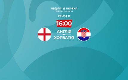 Англія - Хорватія - 1:0: онлайн-трансляція матчу Євро-2020