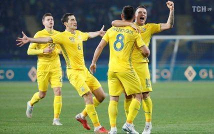 Україна піднялася у рейтингу найкращих збірних ФІФА