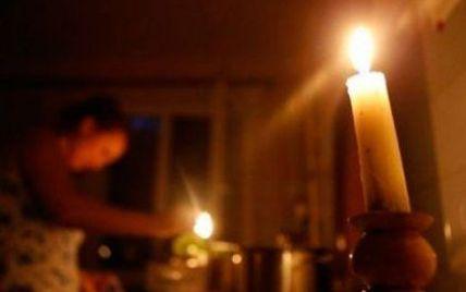 Київ відключатиме Крим від світла постійно, а в морози почастішають відключення на всій Україні